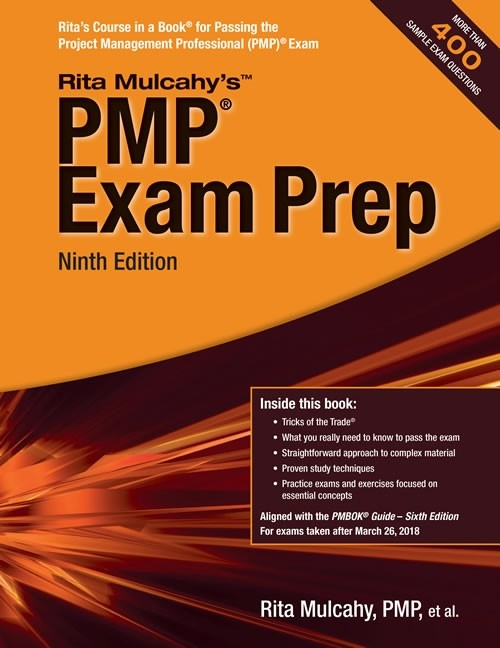 1. PMP® Exam Prep, 9th Edition