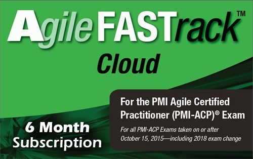 11. PMI-ACP - Agile FASTrack Cloud - Exam Simulator - Version 2 - 6 Month