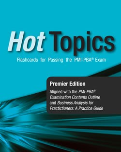 14. Hot Topics PMI-PBA® Exam Flashcards