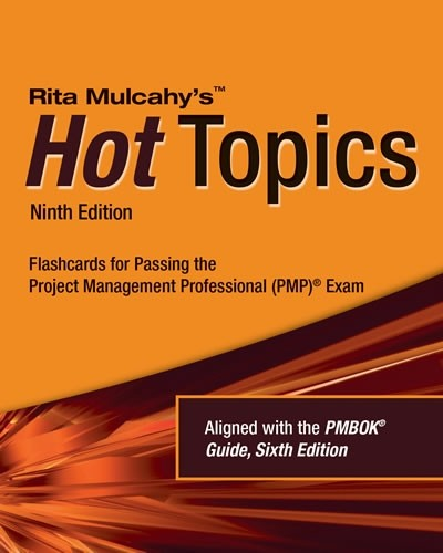 2. PMP® Hot Topics Exam Flashcards, 9th Edition