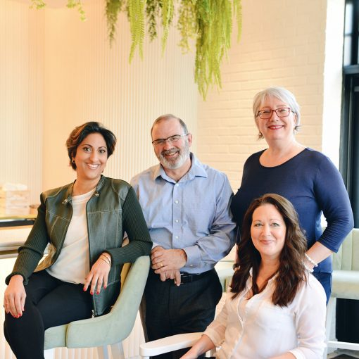 Claude Palmarini et son équipe de formateurs en gestion de projet et gestion des habiletés relationnelles
